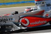 Vodafone mclaren mercedes mp4-22 - фернандо алонсо — Стоковое фото