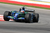Honda racing f1 team ra107 - rubens barrichello — Foto Stock