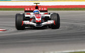 Super aguri f1 sa07 - anthony davidson — Foto Stock