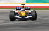 ING Renault F1 Team R27 - Heikki Kovalainen — Stock Photo