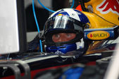 Red Bull Racing RB3 - David Coulthard — Stock Photo