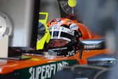 Etihad Aldar Spyker F1 Team F8-VII - Christijan Albers — Stock Photo