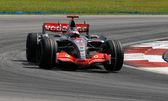 Vodafone McLaren Mercedes MP4-22 - Fernando Alonso — Stock Photo