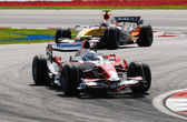 Panasonic Toyota Racing TF107 - Jarno Trulli — Foto Stock