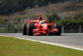 Scuderia Ferrari Marlboro F2007 - Felipe Massa — Stock Photo