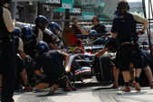 Scuderia Toro Rosso STR2 - Team Practice — Stock Photo
