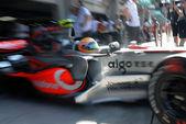 Vodafone McLaren Mercedes MP4-22 - Lewis Hamilton — Stock Photo