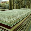 Stock Photo: Persian carpets on display