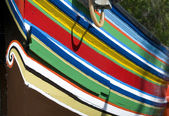 Colorful traditional fisherman boats. — Stock Photo