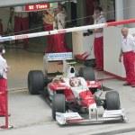 2009 Timo Glock at Malaysian F1 Grand Prix — Stock Photo #32082945