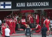 2009 莱科宁在马来西亚 f1 大奖赛 — 图库照片
