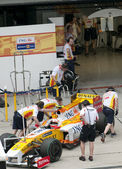 2009 Nelson Piquet Jr. at Malaysian F1 Grand Prix — Stock Photo