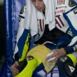 2009 Valentino Rossi of Fiat Yamaha Team at MotoGP Official Test — Stock Photo