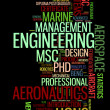Engineering specialist professionals info text graphics and arrangement concept — Stock Photo