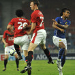 Stock Photo: Manchester United vs MalaysiXI on July 20, 2009, KualLumpur.