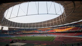 Empty stadium — Stockfoto