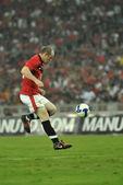 Manchester united vs malajsie xi červenec 20, 2009, kuala lumpur. — Stock fotografie
