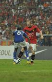 Manchester united xi malásia vs em 20 de julho de 2009, kuala lumpur. — Foto Stock