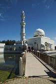 Floating Mosque of Terengganu, Malaysia — Stockfoto