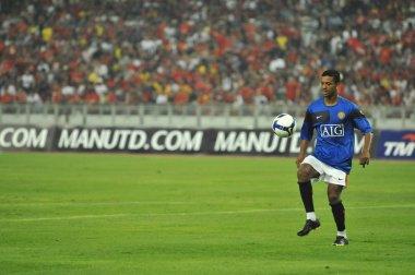 Manchester United vs Malaysia XI on July 20, 2009, Kuala Lumpur.