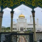 Постер, плакат: Masjid Sultan Omar Ali Saifuddin Mosque in Bandar Seri Begawan