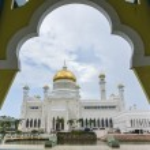 Постер, плакат: BANDAR SERI BEGAWAN BSB BRUNEI NOV 4: Masjid Sultan Omar Ali