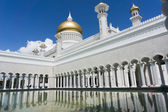 Ablution place Masjid Sultan Omar Ali Saifuddin Mosque in Bandar — Stock Photo