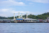 BANDAR SERI BEGAWAN(BSB), BRUNEI-NOV. 4:Masjid Pengiran Muda Mah — Stock Photo