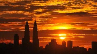 Kuala Lumpur, Malaysia skyline — Stock Video