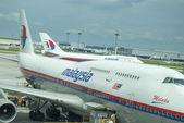 KUALA LUMPUR INTERNATIONAL AIRPORT - JUNE 23: Malaysia Airlines  — Stock Photo