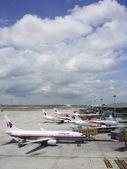 KUALA LUMPUR INTERNATIONAL AIRPORT - MARCH 17: Malaysia Airlines — Stock Photo