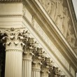 Detail Of The National Archives Building In Washington DC — Stock Photo