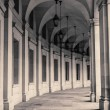 Curved Arcade At The EPA Building In Washington DC — Stock Photo #23958921