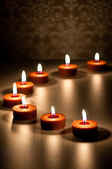 Spa Candle Abstract — Stock Photo