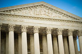 US Supreme Court Building Detail — Stock Photo