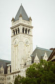 Clock Tower At The Old Post Office In Washington DC — Stock Photo
