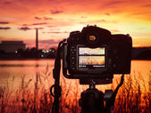 Shooting The Sunrise In Washington DC — Stock Photo