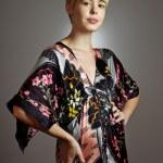 Kimono Girl Portrait — Stock Photo