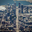 Toronto Aerial View - Stock Photo