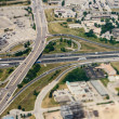Stock Photo: Freeway Interchange Aerial View