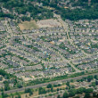 Stock Photo: New Subdivision Development