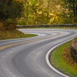 S-Curve Road Skyline Drive — Stock Photo #24938481