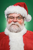 Grumpy Santa Claus — Stock Photo