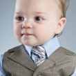 Baby Businessman — Stock Photo