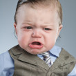 Cry Baby Businessman - Stock Photo