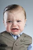 Cry Baby Businessman — Stock Photo