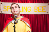 Spelling Bee Contestant — Stock Photo