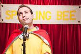 Spelling Bee Contestant — Stock Photo