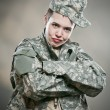 Stock Photo: Army Brat