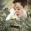 Post traumatic stress — Stock Photo
